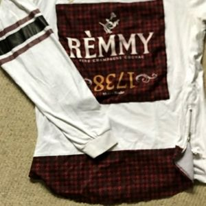 Remmy Hennessey longsleeve xl red houndtooth w